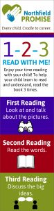 The 1-2-3 Read program bookmark.